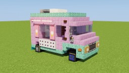 Ice Cream Truck Minecraft Map & Project