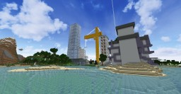 Small River Beach & Bearry Tree Hill's Aquarium Parking garage Minecraft Map & Project
