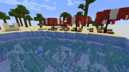 A day on the beach [Fast Project] Minecraft Map & Project
