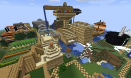Stampy's Lovely World Remake Minecraft Map & Project