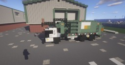 1.5:1 Scale  Mack TerraPro Front load ( Waste Management ) Garbage truck Minecraft Map & Project