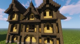 Leyawiin House #1 OBLIVION Inspiration Minecraft Map & Project