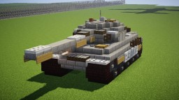 Tiger II (King Tiger) Minecraft Map & Project