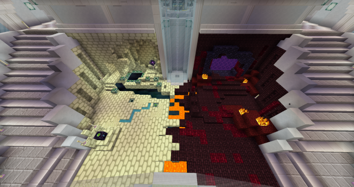 Servers End & Nether Portals