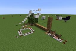 auto tree farm Minecraft Map & Project