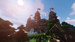 Medieval Town Hall + Interior - 1.14 - Conquest Vanilla - design by Lord Dakr Minecraft Map & Project