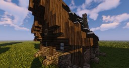 Medieval Nordic House Minecraft Map & Project