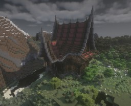 [1.12.2][Download available]  Fantasy Wooden House-01 Minecraft Map & Project