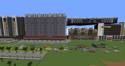 Large scale modern architecture Minecraft Map & Project