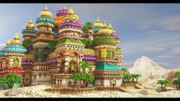 Aladdin's Palace Minecraft Map & Project