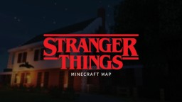 Stranger Things Map Minecraft Map & Project