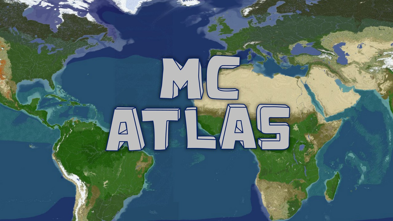 MCAtlas - Earth Map Minecraft Server