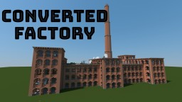 Converted Factory Building Minecraft Map & Project