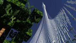 Dubai Creek Tower   Skyscrapers 1 Minecraft Map & Project