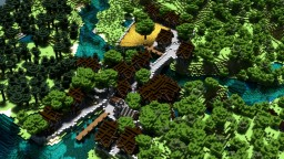 Fantasy Village Minecraft Map & Project