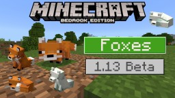 Foxes in Minecraft: Bedrock Edition! New Mob in 1.13! Minecraft Blog
