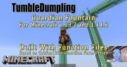 Guardian Farm for Minecraft 1.13 and 1.14 (Uses Function Files) Minecraft Map & Project