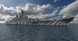 USS Iowa (BB-61) Minecraft Map & Project