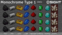 iSIGHT Monochromacy Color Blindness Texture Pack Addon Type 1 | [1.14.x] | RGB weakness | Colour Vision Deficiency Aid | Full Colour Blindness - maybe also Achromatopsia | Glow in the Dark (Optifine) Minecraft Texture Pack