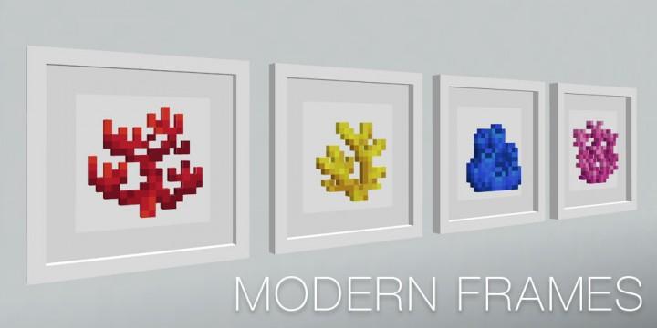 Modern Frames 111 114 Minecraft Texture Pack