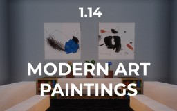 Modern Art Paintings (1.14+) Minecraft Texture Pack