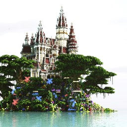 Overgrown-Castle Minecraft Map & Project