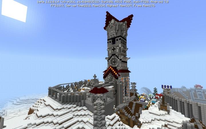 Nordic Village Minecraft Map