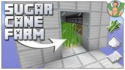 Automatic Sugar Cane Farm for Minecraft 1.14 Minecraft Map & Project