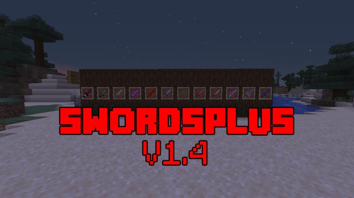 1 14+] Swords+ Datapack v1 4 Minecraft Data Pack