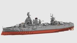 Minecraft USS Texas BB-35 Minecraft Map & Project