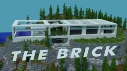The Brick, a modern subalpine house Minecraft Map & Project