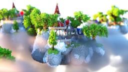 SkyWay HUB/SPAWN Minecraft Map & Project