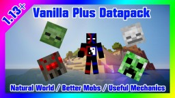 Vanilla Plus Version 3.0 Final Version Minecraft Data Pack
