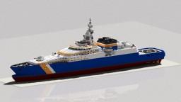 Patrol ship coast guard CT-1500 Minecraft Map & Project