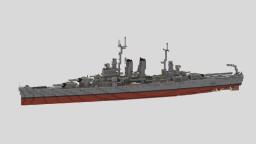"American Heavy Cruiser ""USS Wichita"" CA-45 Minecraft Map & Project"