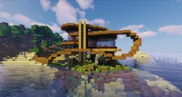 Organic Summer House 1.14.3 Minecraft Map & Project