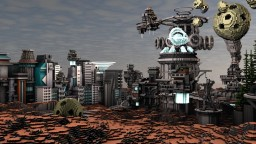 Center of TrekWec Minecraft Map & Project