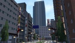 Japanese style city --KYOKEI CITY-- (Ver.1.4.1) 2019/11/05 Minecraft Map & Project