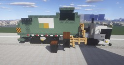 1.5:1 Scale Mack TerraPro SIDE LOAD ( Waste Management ) 2 Garbage trucks Minecraft Map & Project