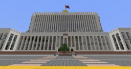 House of government of the USSR    Second full version. Minecraft Map & Project