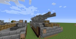 """[Fictional] M2A72 Armoured Assault Vehicle """"Baneblade"""" Tank Minecraft Map & Project"""