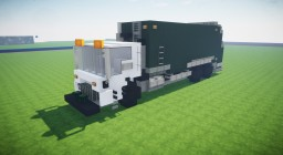 Mack Garbage Truck Minecraft Map & Project