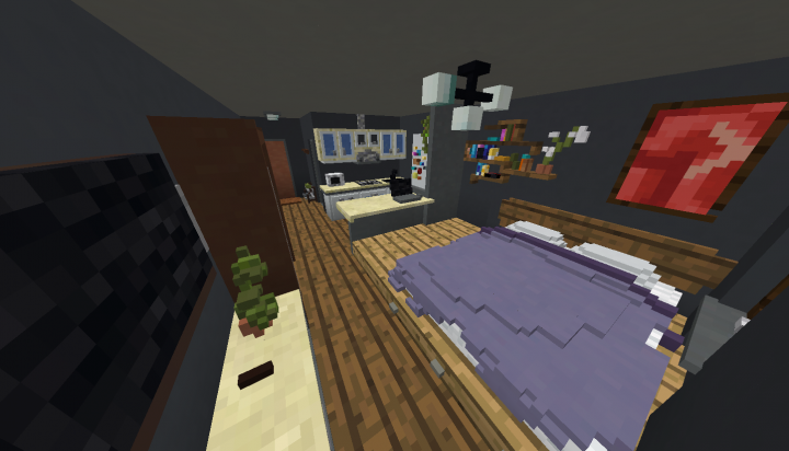 A shitty Quake pro screenshot of the whole studio
