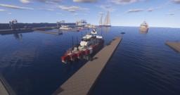 Coast Guard Patrol Boat (1.5:1) Minecraft Map & Project
