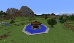 Swimming Pool in a Shape of a Ring (Mystery Title - Summertime Edition) Minecraft Map & Project