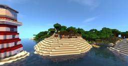 Coastal Home Minecraft Map & Project