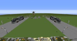 The end of the zombie outpost Minecraft Map & Project