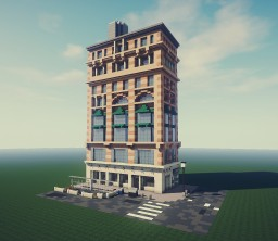 Building On Fulton St. - New York Impressions Minecraft Map & Project