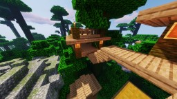 Jungle Tree House Minecraft Map & Project