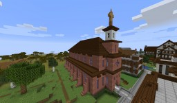 Turtle Bay Church on the Hill Minecraft Map & Project